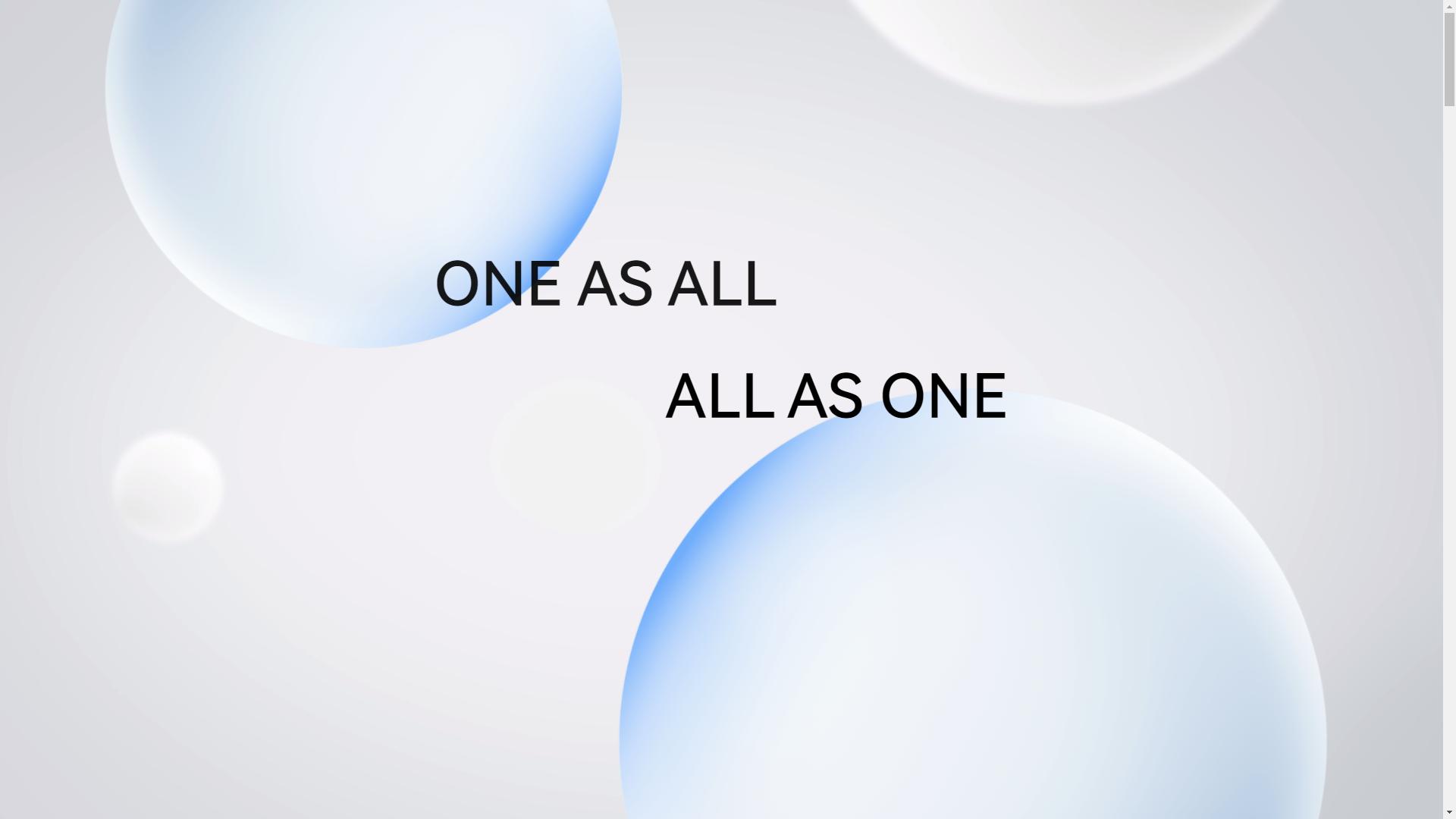 Harmony OS Slogan